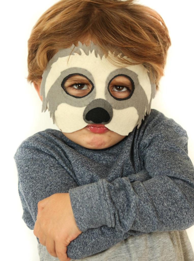 Sloth Mask Sewing Pattern by Ebony Shae Designs - Seams Sew Lo