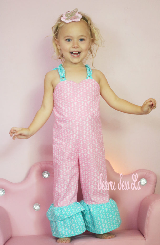 Be Outstanding Girls Overall Sewing Pattern Only 1 Seams Sew Lo